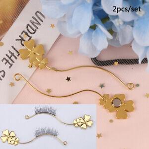 2pcs/set Eye Makeup tool Eyelash Style DisplayBoard Tweezer Eyelash Curler TYJCN