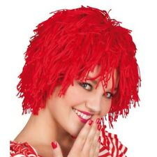 Red Woolly Clown Ronald Halloween Fancy Dress Wig