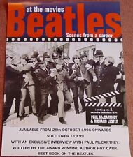 Beatles Scenes From a Career promo book Poster