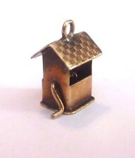 Vintage 14K Gold Wishing Well  Charm No Stone