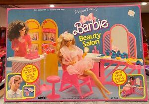 1980's Barbie Perfume Pretty Beauty Salon