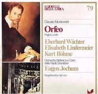 I Schmuck Der Lyrik N.79, Monteverdi: L'Orfeo / Jochum, Bohme, Handwaage