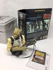 Star Wars Gentle Giant Mini Bust - Bossk - Esb Mint Rare #1815 Of 5000