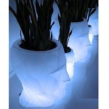 VONDOM * Pot de Fleurs Lumineux LED * ADÀN * 70cm * Blanc éclair blanc