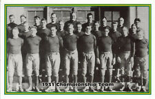 1993 Green Bay Packers Champion Postcard 1931 Championship Team Mike Michalske