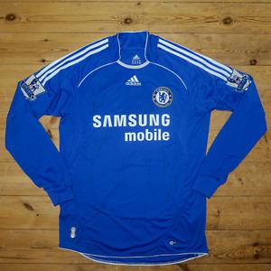 2006 - 2008 Signed Chelsea Shirt - John Terry - Frank Lampard - Paulo Ferreira