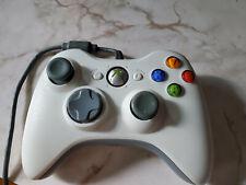 Microsoft Xbox 360/PC Wired Gamepad - OKAY condition - White