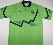 1991-1993 NOTTINGHAM FOREST UMBRO THIRD FOOTBALL SHIRT (SIZE L)
