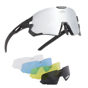 Polarized Sport Cycling Sunglasses Bicycle Bike Windproof Goggles MTB Racing