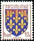 "FRANCE TIMBRE STAMP N°899 ""ARMOIRIES DE PROVINCE, ARTOIS"" NEUF XX TTB"