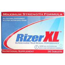 Rizer XL1 Bottle Supply Stamina Endurance Libido Male Enhancement Pills RizerXL