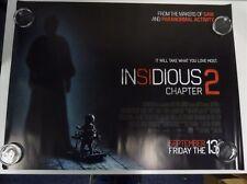 Insidious Chapter 2 Rose Byrne Horror Original Film / Movie Poster Quad 76x102cm