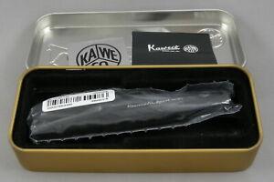 Kaweco AL Sport Matte Black Fountain Pen - EF Nib - New In Box - Made In Germany
