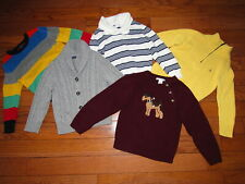 Gap Janie and Jack Polo Ralph Lauren Sweater Toddler Boy size 4 Lot of 5