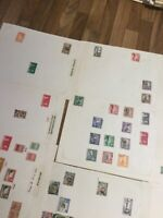 British Commonwealth stamp Selection 25 leaves QV - QE == lot 2#