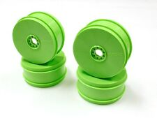 Kyosho 17mm Dish Wheels Green (MP9 TKI4) (4) - KYOIFH006KG