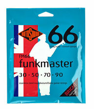Rotosound FM66 Funkmaster Bass Guitar Strings 30-90