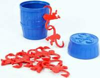 Worlds Smallest BARREL OF MONKEYS Classic Game Miniature Toy