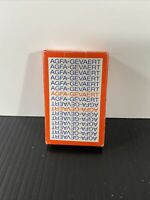 AGFA -GEVAERT BRANDED PLAYING CARDS- VG-GOOD CONDITION WITH BOX