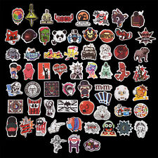 100PCS Cool Sticker Graphics Decal Car Skate Skateboard Laptop Luggage Emblems