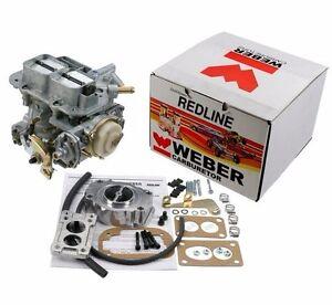 For Suzuki Samurai 1985-1989 WEBER 32/36 DGEV Carburetor KIT w/ Filter Adapter