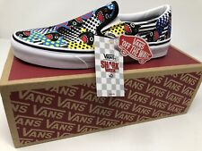 NEW VANS Shark Week Classic Slip On Limited Edition Mens Size 10