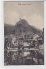 AK Oberstein, Nahe, Teilansicht m. Kirche 1919