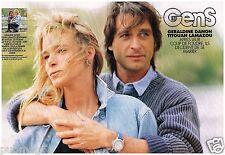 Coupure de presse Clipping 1993 (4 pages) Geraldine Danon et Titouan Lamazou