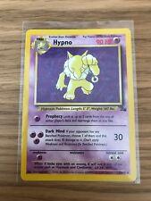 NEAR MINT! Hypno (23/62) Fossil Set Rare Pokemon Card Fast P&P!