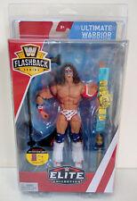 WWE Mattel Elite Flashback Series 1 Ultimate Warrior w/ Case MIB