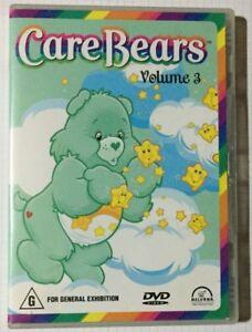 Care Bears DVD Volume 3 1980s - Cult Classuc Kids Cartoon EDU