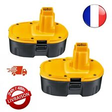 2 Batterie 18v 3.0Ah Pour Dewalt DE9503 DC9096 DE9039 DE9095 DE9096 DE9098