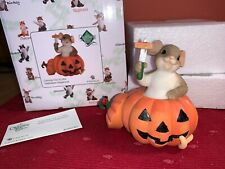 """Charming Tails """"Carving Our A Little Halloween Happiness"""" Dean Griff Nib Fall"""
