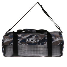 Scuba Diving Swimming Travel Mesh Duffle Bag Carry Holdall   Shoulder Strap 9e62da93bf