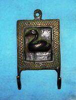 Brass Coat Hanger Handmade Duck Designed Antique Wall Decor Clothes Hook JD58