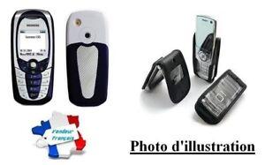 Housse Etui Cellular Avec Attache Clip Pour Siemens C65 / CV65