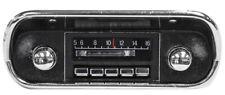 NEW! 1967-1973 Mustang AM FM Slidebar Stereo Radio Chrome Knobs Free Shipping