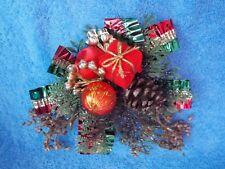 Vintage Christmas Corsage, Present or Christmas Decoration