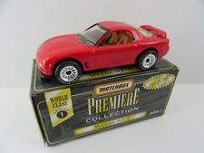 Matchbox Superfast 8j Mazda RX-7- Red - Premiere Class S1 - Mint/Boxed