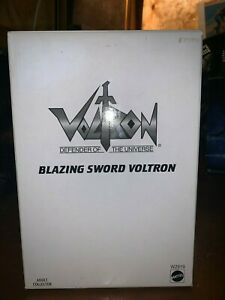 Voltron Defender of the Universe Blazing Sword Voltron Mattel Adult Collector