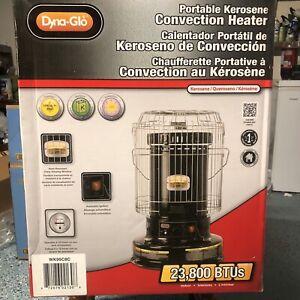 NEW Dyna-Glo WK95C8C 23,800 BTU Indoor Kerosene Convection Heater Black SEALED