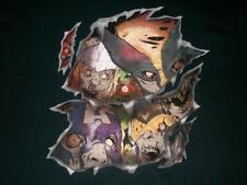 Zombies Avengers X-men Marvel Universe Black T-shirt Men's Large New w/ Tag