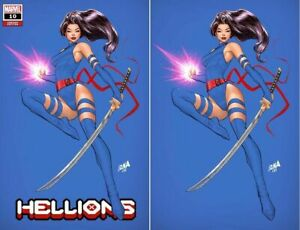 HELLIONS #10 DAVID NAKAYAMA EXCLUSIVE VARIANT SET NM PSYLOCKE WOLVERINE X-MEN