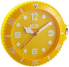 Ice Clock Silent Sweep Movement Yellow Matte Finish Wall Mountable IWF.YW