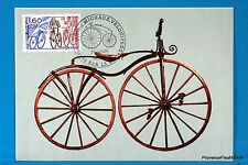 VELOCIPEDE DE MICHAUX    Carte Postale Maximum FDC Yt C 2290