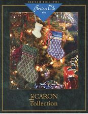 Persian Tile Stockings - The Caron Collection