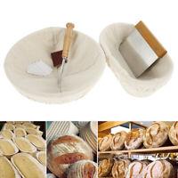 11x rond ovale étanchéité du pain prouvant panier rotin Banneton Dough Tool D1
