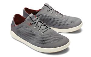 Olukai Nohea Moku Pae Poi/Red Loafer Boat Shoe Men's US sizes 7-14 NEW!!!