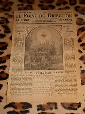 LE POINT DE DIRECTION - Journaux catholiques du diocèse de Coutances - 5, 1942