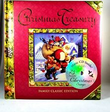 Christmas Treasury of Classic Christmas Stories and Songs w/20-Song CD Hardcover